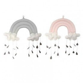 Baby Crib Decor Toy Cotton Cloud Shape Kindergarten Nursery Room Wall Hanging Decor for kids