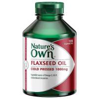Alam sendiri Flaxseed Oil 125 kapsul