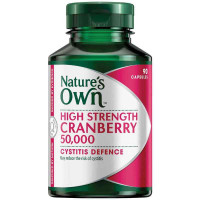 Nature's sendiri cranberry 50000mg 90 kapsul