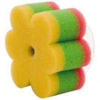 CANPOL bayi Sponge bunga dengan suction Cup