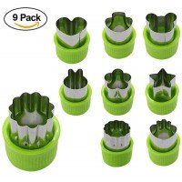 9 pcs/set pemotong sayuran bentuk set Mini Pie buah cookie Mold cookie cutter Kids baking tool makanan suplemen alat #21