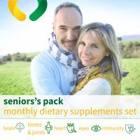 Senior paket-suplemen diet bulanan set