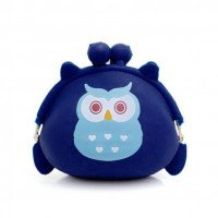 MAFA 2018 Hot Wallet perempuan Owl Silicone jelly Wallet Ubah Bag Key Pouch Coin purse CSV F27 drop