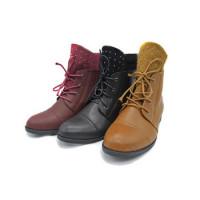 Wanita Sepatu Boots sepatu bot wanita tahan air