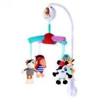 CANPOL bayi Electric Plush Carousel dari koleksi
