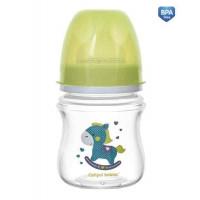 CANPOL bayi botol KA szerokootworowa antykolkowa EasyStart 120 ml mainan