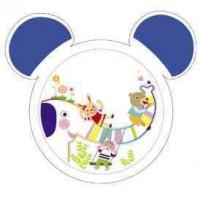 CANPOL bayi plastik mangkuk dengan telinga