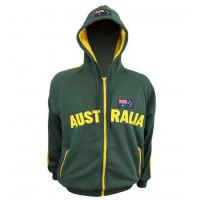 Australia hoodie-hijau/emas