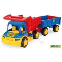 WADER raksasa truk Tipper dengan trailer