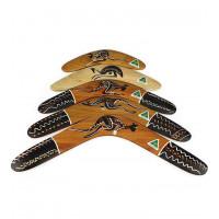 Kayu tradisional Australia Boomerang-16 inch