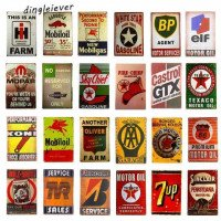 DL-minuman motor minyak rute 66 PIN Up TIN SIGN dinding lukisan seni Metal Decor garasi Man Cave Home Sticker