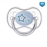 CANPOL bayi Smoczek silikonowy okrągły